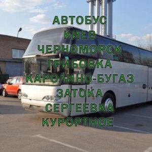 автобус киев затока курортное